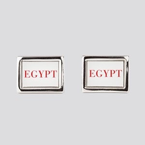 Egypt-Bau red 400 Rectangular Cufflinks