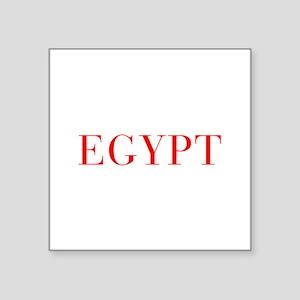 Egypt-Bau red 400 Sticker