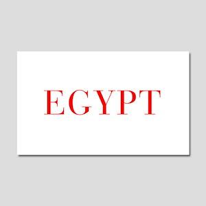 Egypt-Bau red 400 Car Magnet 20 x 12