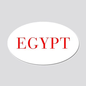 Egypt-Bau red 400 Wall Decal