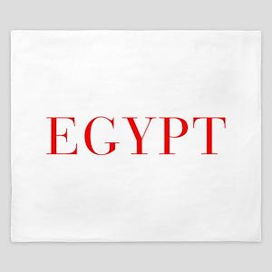 Egypt-Bau red 400 King Duvet