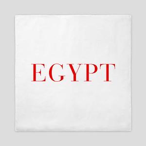 Egypt-Bau red 400 Queen Duvet
