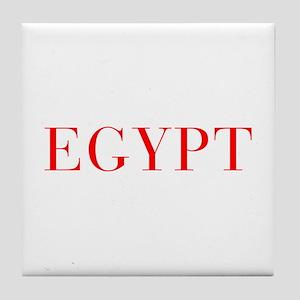 Egypt-Bau red 400 Tile Coaster
