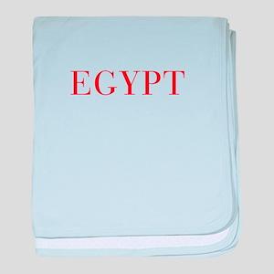 Egypt-Bau red 400 baby blanket