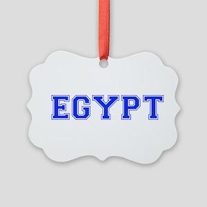 Egypt-Var blue 400 Ornament