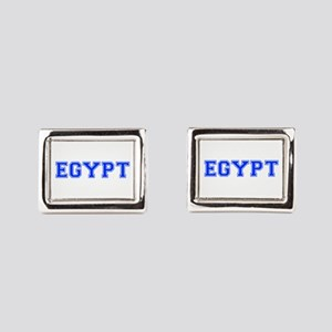 Egypt-Var blue 400 Rectangular Cufflinks