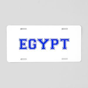 Egypt-Var blue 400 Aluminum License Plate