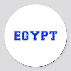 Egypt-Var blue 400 Round Car Magnet