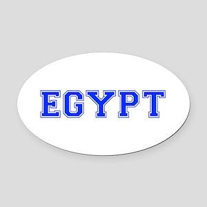 Egypt-Var blue 400 Oval Car Magnet