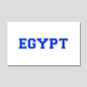 Egypt-Var blue 400 Car Magnet 20 x 12