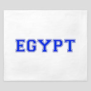 Egypt-Var blue 400 King Duvet