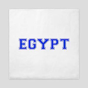 Egypt-Var blue 400 Queen Duvet
