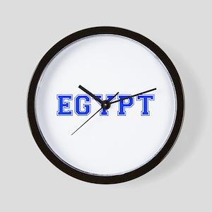Egypt-Var blue 400 Wall Clock