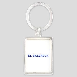 El Salvador-Var blue 400 Keychains