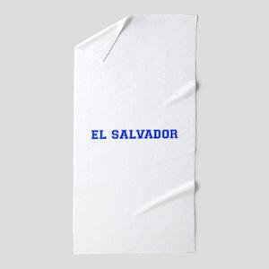 El Salvador-Var blue 400 Beach Towel