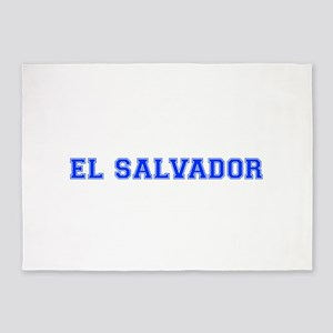 El Salvador-Var blue 400 5'x7'Area Rug