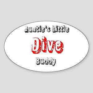 Auntie's dive buddy Sticker