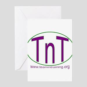 TnT Circle Greeting Card