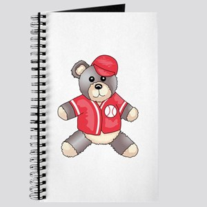 BASEBALL TEDDY BEAR Journal