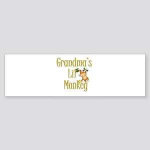 Monkey 3 Bumper Sticker