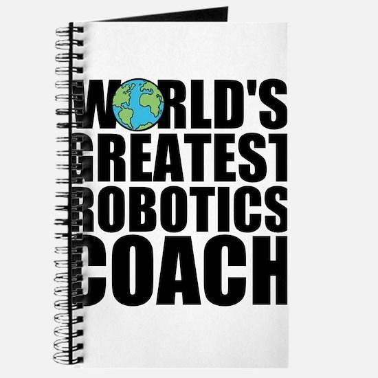World's Greatest Robotics Coach Journal