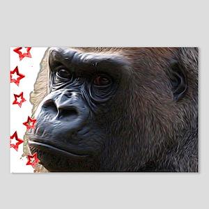 Gorillas Postcards (Package of 8)
