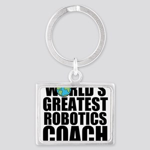 World's Greatest Robotics Coach Keychains