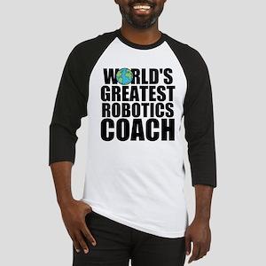 World's Greatest Robotics Coach Baseball Jerse