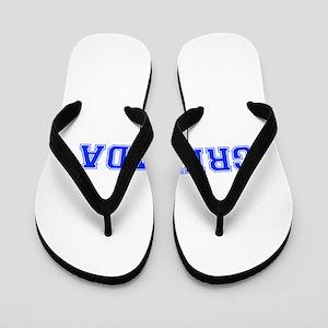 Grenada-Var blue 400 Flip Flops