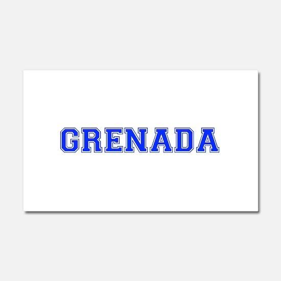 Grenada-Var blue 400 Car Magnet 20 x 12