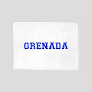 Grenada-Var blue 400 5'x7'Area Rug