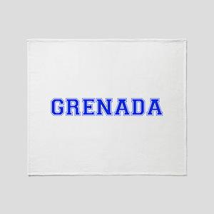 Grenada-Var blue 400 Throw Blanket