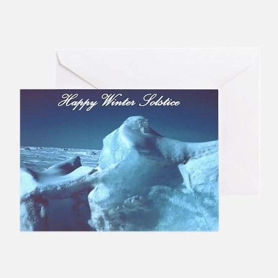 Glacial Beauty Solstice Card
