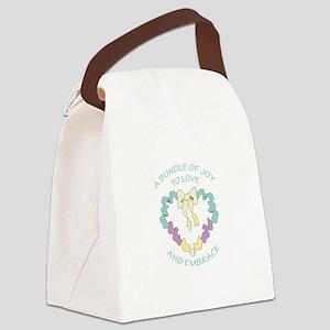 BUNDLE OF JOY Canvas Lunch Bag