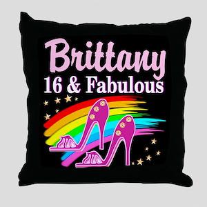 GORGEOUS 16TH Throw Pillow