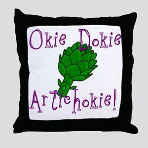 Okie Dokie Throw Pillow