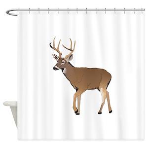 Female Deer Shower Curtains