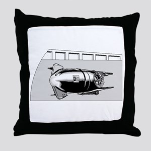 Bobsled Throw Pillow