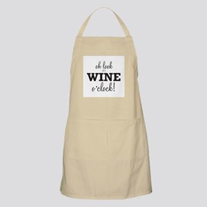 Wine O Clock Apron