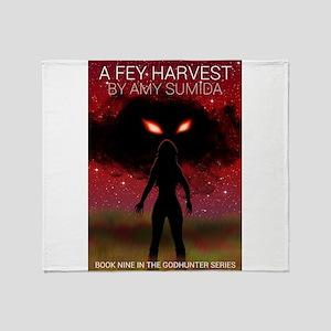 A Fey Harvest Throw Blanket