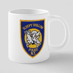Sleepy Hollow Police Mugs