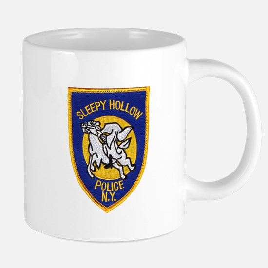 Sleepy Hollow Police Mugs