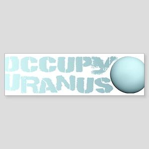 Occupy Uranus Bumper Sticker