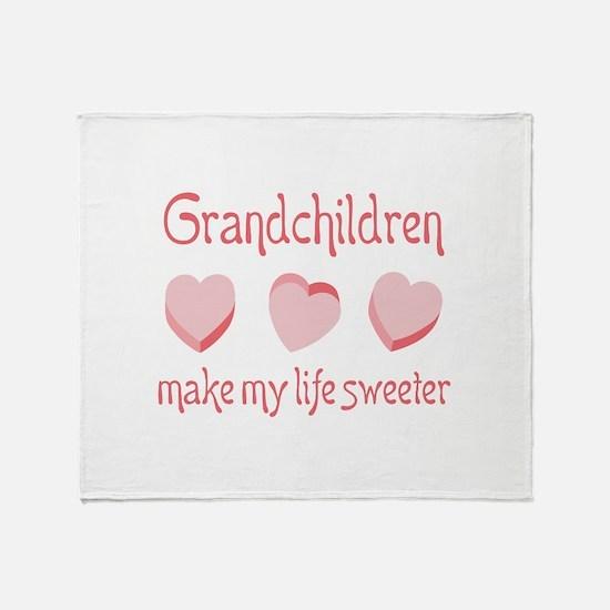 GRANDCHILDREN Throw Blanket