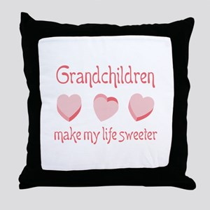 GRANDCHILDREN Throw Pillow