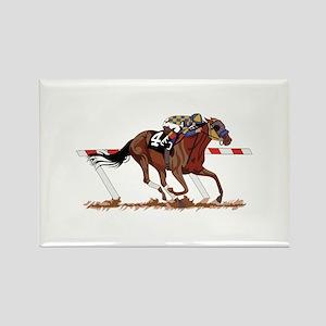 Jockey on Racehorse Magnets
