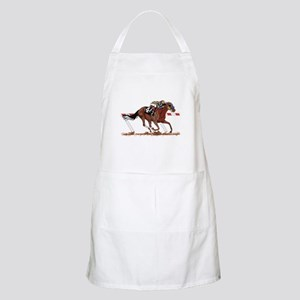 Jockey on Racehorse Apron