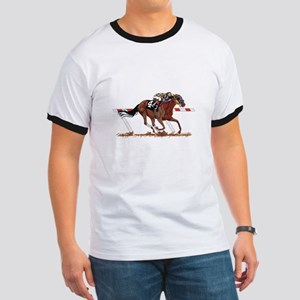 Jockey on Racehorse T-Shirt
