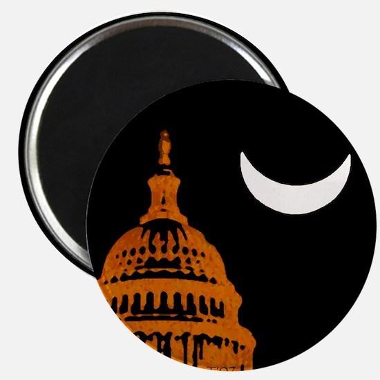 Moonrise Over DC Magnet