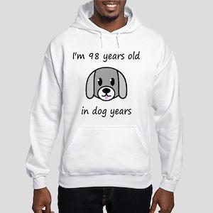 14 dog years 2 Hoodie
